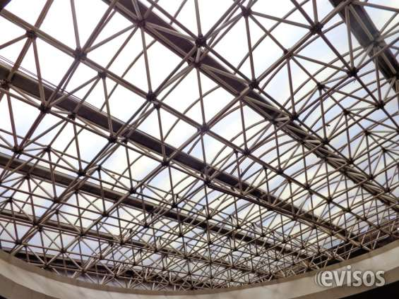Vidros telhados industriais