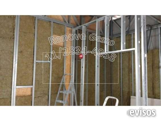 Drywall? 112834-4058 paredes divisorias gesso vila prudente mooca