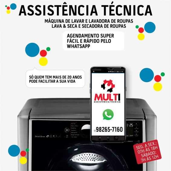 Serviços técnicos para sua máquina de lavar roupas