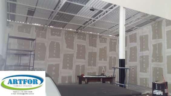 Fotos de São paulo divisórias eucatex, paredes divisórias, dry wall, divisórias gesso. 9